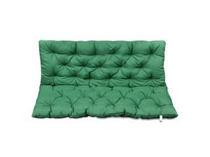 """vidaXL Replacement Cushion for Garden Swing Chair Seat and Backrest 47.2"""" Green"""