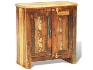 vidaXL Reclaimed Cabinet Solid Wood with 2 Doors Vintage