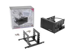 "Evercool HD-AR-BK ARMOR 2x 5.25"" Drive Bay to 3x 3.5 HDD 4x 2.5 HDD Cooling Box New"