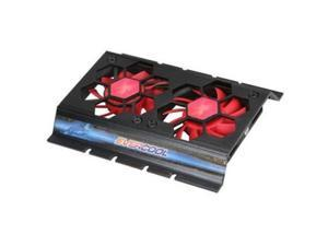 "EverCool HD-F117 NightHawk Internal 3.5"" Hard Disk Drive HDD Aluminum Cooler Fan"