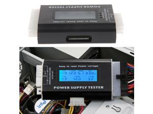 New Digital LCD PC Computer Power Supply Tester 20/24 Pin 4 PSU ATX SATA HDD Testers