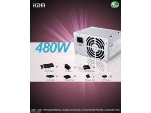 NEW 480W Dell NJ9GY XK376 XK215 NH493 C248C CY82 HP201 Power Supply Replace 50N