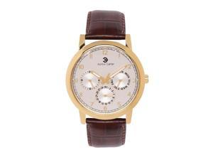 Ashton Carter Multi Function Gold / Brown Watch - AC-1007