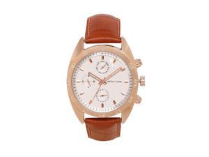 Ashton Carter Multi Function White / Brown Watch - AC-1002-B