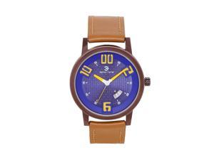 Ashton Carter Casual with Date Blue / Tan Watch - AC-1006-A