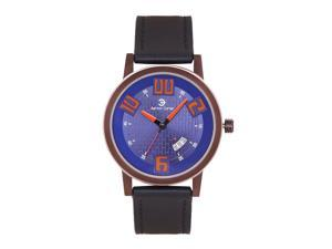 Ashton Carter Casual with Date Blue / Black Watch - AC-1006-B