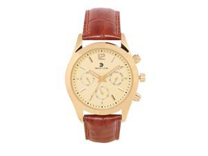 Ashton Carter Multi Function Gold / Brown Watch - AC-1011-B