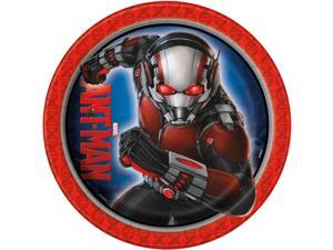 Ant Man Marvel 9 inch Lunch Plates [8 per Pack]