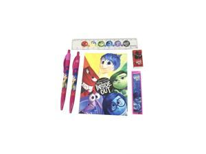 Stationery Set - Inside Out - Multicolored - 6pc Favor Set