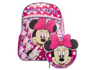 Minnie Mouse Backpack Combo Set-Disney Minnie Mouse 2pc Backpack School Set Pink
