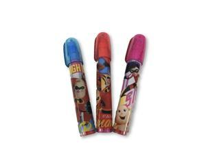 Erasers - Incredibles 2 - 3ct - Party Favors - Stackable
