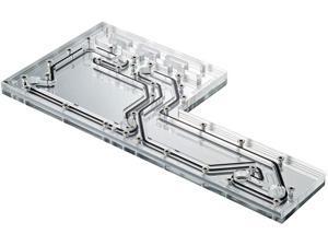 Distribution Plate. Mirror Acrylic Backplate, Digital-RGB LED