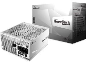 Seasonic Prime Snow Silent 750 Titanium SSR-750TR 750W 80+ Titanium ATX12V & EPS12V Full Modular 135mm FDB Fan Power On Self Tester 12 Year Warranty Power Supply Color White
