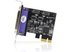 1 Port PCI Express Low Profile Parallel Adapter Card - SPP/EPP/ECP Parallel Card (PEX1PLP)