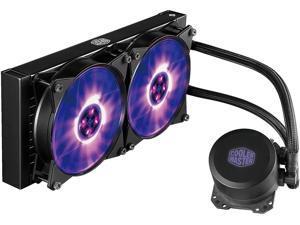 Cooler Master MasterLiquid ML240L RGB AIO CPU Liquid Cooler '240mm Radiator, All-in-One, Dual Dissipation Pump' MLW-D24M-A20PC-R1