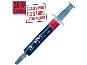 ARCTIC MX-2 (4 Grams) (Current Edition) - Thermal Compound Paste, Carbon Based High Performance, Heatsink Paste, Thermal Compound CPU for All Coolers, Thermal Interface Material (ACTCP00005B)