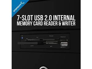 Sabrent 75-in-1 Multi Flash Media Card Reader/writer(With power cord) (CRW-UINB)