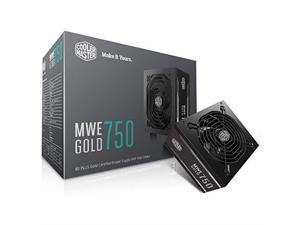 Cooler Master MPY-7501-ACAAG-US MWE Gold 750 Watt 80 Plus Gold Certified Power Supply