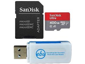 SanDisk Extreme Pro 512GB MicroSD XC Class 10 UHS-I Mobile Memory Card for Samsung Galaxy TAB S5e S6 A 8.0 10.1 A10e View2 with USB 3.0 MemoryMarket Dual Slot MicroSD /& SD Memory Card Reader