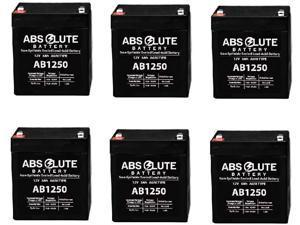 8 Pack AB1290 12V 9AH Battery for Omni LCD 900VA UPS Tower