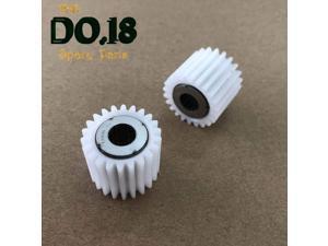 Printer Parts 5pc 22T Fuser Drive Gear A03U809311 A03U809300 for K0nica Minolta Yoton c6501 c5500 c5501 c6000 7000 6500