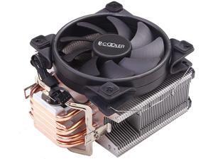 PCCOOLER Q82M PCCOOLER Q80M 80mm 4PIN PWM CPU Cooler for Intel LGA 1151//1150//1155//1156//775 /& AMD AM4//FM22+//FM2//FM1//AM3+//AM3//AM2+//AM2