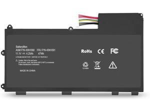 BatteryMon Battery L11N3P51 L11S3P51 45N1088 45N1089 45N1090 45N1091 for Lenovo ThinkPad T430U Ultrabook - 11.1V 4.25Ah 47Wh