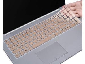 Keyboard Cover Compatible Lenovo IdeaPad 320 330 330s 340s 520 720s 130 S145 L340 S340 15.6 inch / 2020 Lenovo ideapad 3 15.6 / Lenovo IdeaPad 320 330 17.3 inch Laptop Skin, Gold