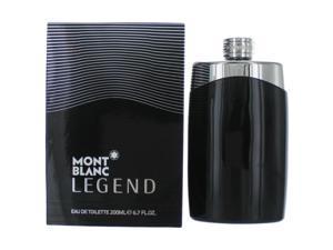 Mont Blanc Legend For Men 6.7 oz / 200 ml Eau De Toilette Big Size Spray