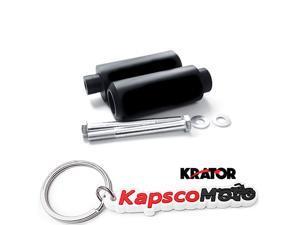 Krator Extended Frame Sliders Motorcycle Crash Protectors For 2002 Honda CBR 600 F4 F4i