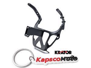 Kapscomoto Keychain Krator Keychain Key Ring Fob With Suzuki GSXR 1300 Logo Hayabusa Decal Motorcycle
