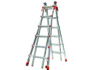Little Giant Velocity Multi-Use Ladder Model 26, Type 1A 300-lb Duty Rating, 15426-001