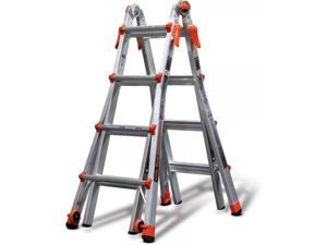 Little Giant Velocity Multi-Use Ladder Model 17, Type 1A 300-lb Duty Rating, 15417-001