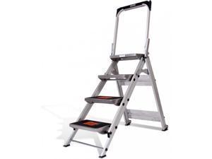 4 Step Little Giant Safety Step ladder stool 10410BA