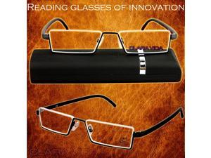 TR90 ultra light reading glasses and a resin anti fatigue portable high-end fashion glasses +1 to +4