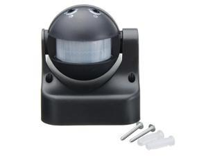 180 degree Auto PIR Motion Sensor Detector Switch Home Garden Outdoor Light Lamp Switch Black Best Price