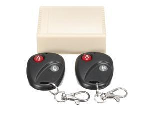 2 Channel Wireless RF Remote Control Switch Controller Garage Door 315MHz Momentary Door Access 2 Fob High Quality