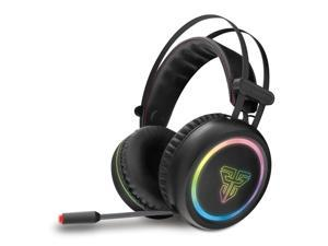 Virtual 7.1 Channel Surround Sound Gaming Headset Stereo LED Headphones with Mic LED Light USB 3.5mm for Computer PC Gamer