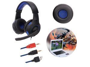 Surround Stereo Gaming Headset Headband Headphone USB 3.5mm with Mic for PC Sport Earphone Microphone headset Handfree