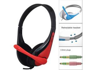 High Quality Wired Gaming Headset Headphones With Microphone For PC Laptop Phone Game Console
