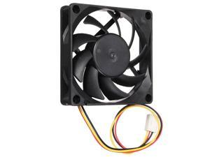 Mokingtop2018 DC 12V 2200RPM 70x70x15mm 3pin Computer PC Fan Cooler CPU Silent Cooling Case Fan for K8 AMD Black