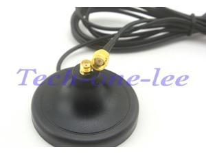 ,Easy to Install Lekai Multifunctional Meet Different Needs 3DBi RP-SMA Male 1.2GHZ Antenna Black