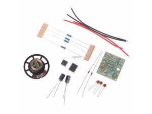 NE555 Oscillator Buzzer Electronic DIY Tone Generator LED Kit 8R 0.25W Speaker Integrated Circuits July DropShip