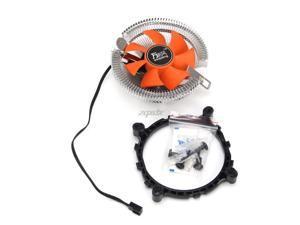 2200rpm CPU Quiet Fan Cooling Heatsink Cooler For Intel LGA775/1155 AMD AM2/3 Z07 Drop ship
