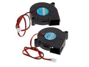 3D Printer Fan 5015 12V 24V 0.23A Sleeve Bearing Brushless Fan Centrifugal For Reprap i3 DC Cooling Fan Fan 5015S June