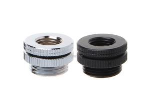 G1/4 Threaded Wear Plate Bulkhead Fitting Top Injection Connector Water Cooling AUG_22 Dropship