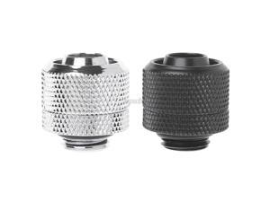 """G1/4 3/8""""ID X 5/8""""OD 10X16mm Tubing Hand Compression Fittings Water Cooling Nov12 Drop ship"""
