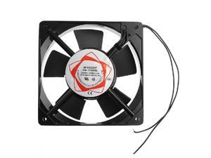 1 PC Black SF12025AT 2122HSL 12025 120mm Sleeve Bearing 220-240V AC 2-Wire Case Cooling Fan Oct30 Drop ship