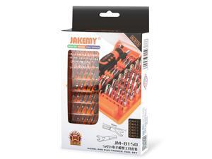 JAKEMY JM-8150 52 in 1 Computer Laptop Repair Hand Tools Kit Screwdriver Set for Mobile Phone Electronic Model DIY Repair