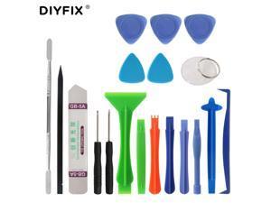 19Pcs Phone Repair Tool Kit Metal Pry Bar Mobile Phone Disassemble Tools Kit for iPhone Samsung PC DIY Hand Tools Set